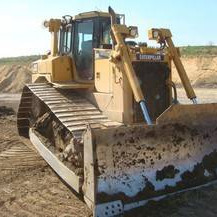 Used building machinery, trucks, spare parts
