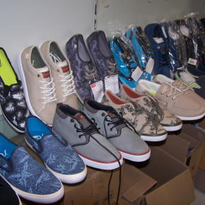 QUIKSLVER SAMPLE SHOES