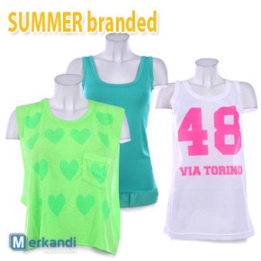 Summer branded T-shirts for women wholesale !