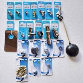 Stock of waterwork systems spare parts and accessories