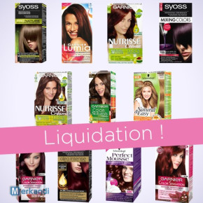 Lots of hair colours by Garnier/Schwarzkopf/Syoss