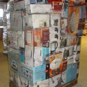 Household appliances and audio equipment - mixed pallets