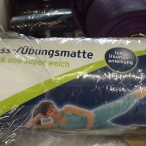 Fitness Mat Exercise Mat - extra thick and super soft 1.5cm