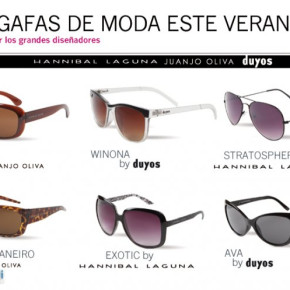 Sunglasses of great designers, OFFER
