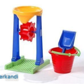 Game Sand box depo, form, ship, big bucket, set, Several