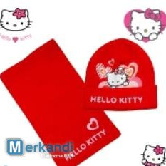 Hello Kitty wholesale hats and scarves for children