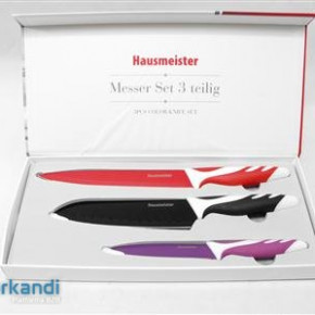 Knife set piece of 3 colorful 7203