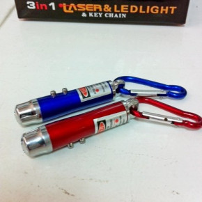 LED Flashlight 3 in 1 LED UV lamp