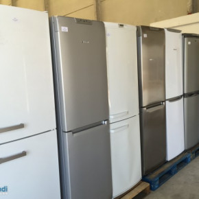 Washing machines, dishwashers, refrigerators combis, Trucks Full loads