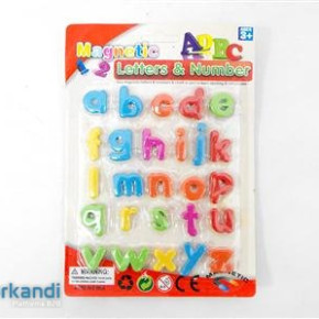Letter magnets small ABC piece of 26