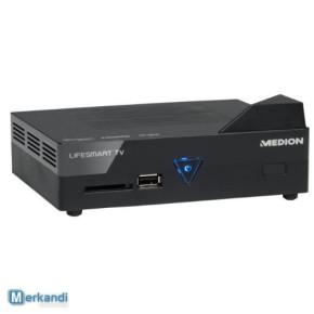 Medion Lifesmart TV Full HD player , SPDIF, RJ-45, SD-Kartenslot, USB 2.0