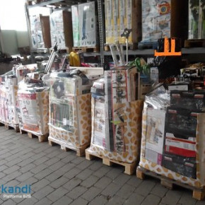 Mixed items - discount goods - Multimedia, Kitchenware & Furniture