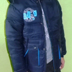 Fashionable current winter jackets for girls and boys