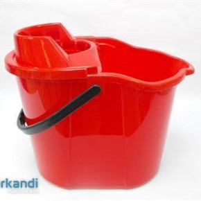 Mop bucket oval + screw star 15 L