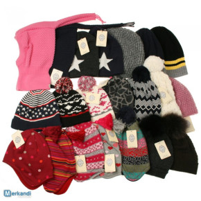 Knitted baby and kids wear hats , leggings, tights and socks