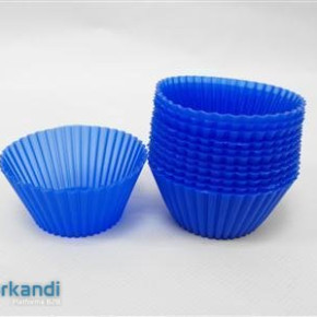 Muffin baking silicone piece of 12 c1077