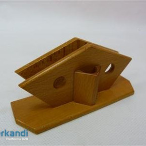 Napkin holder wooden