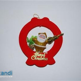 Ornament with Santa Claus