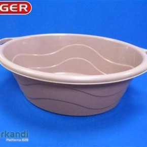 Oval bowl with ear 40 L