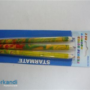 Pencil thick colorful piece of 3