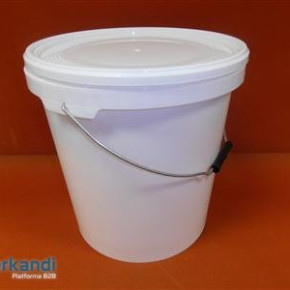 Pickle bucket 20 L round + cover