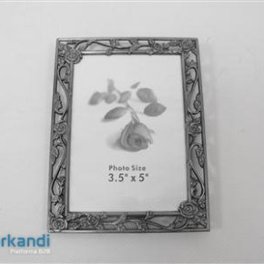 Picture frame metal 12x16 cm PRY