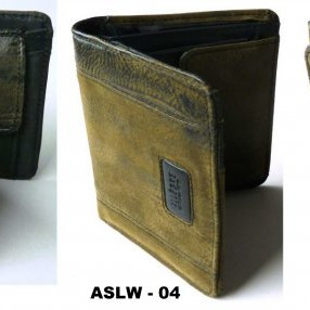 Leather wallets, made in Germany