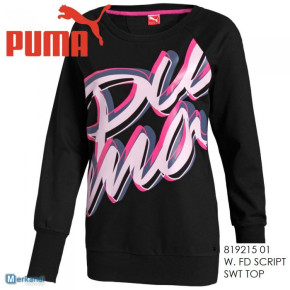 PUMA WOMEN SWEAT BLACK Réf 819215