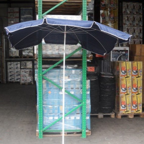 Rectangular Parasol in Blue - 200x150cm, 10 fields