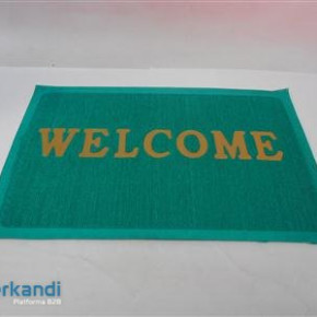 Rubber Matting WELCOME colorful
