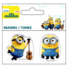 Set of 2 Gums MINIONS