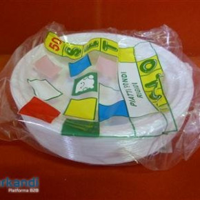 Soup plate plastic 50 in pack
