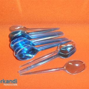 Spoon colorful plastic piece of 25