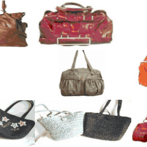 Wholesale pallets with handbags