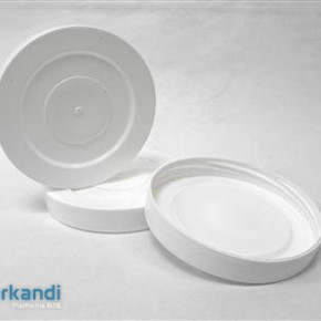 Threaded cover plastic 82mm piece of 25 in pack
