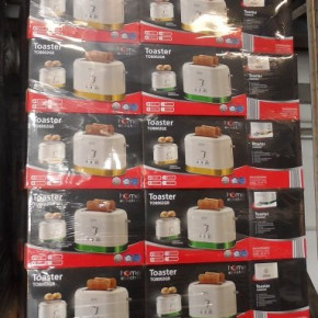 Toaster TO8002GR of Home Electric