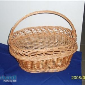 Wicker basket natur