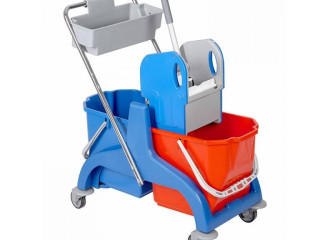 ILCLEAN Double Bucket With Upper Bucket Trolley ✔