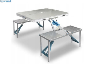 TOURIST FOLDING CASE TABLE WITCH CHAIRS