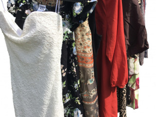 Second hand women's dresses sorted used clothing mix package 200kg