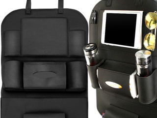 ORGANIZER BAG FOR CAR SEAT LEATHER