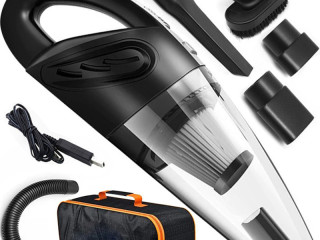 STOCK LOT OF WIRELESS MANUAL CAR VACUUM CLEANER 120W 2 WITH TRANSPORT