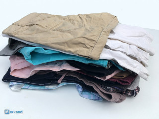 Women's shorts second hand used clothing sorted mix package