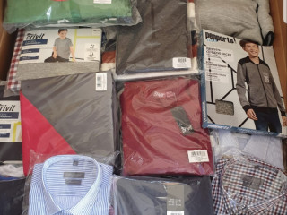 Mix pallets of clothing Autumn Winter from LIDL stock clearance A-Grade