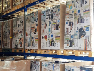 100% electrical return mixed pallets with electrical household goods - approx