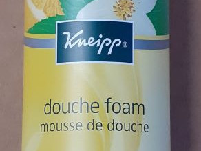 Kneipp shower foam moment of happiness