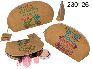 Natural Style Toiletry Bag