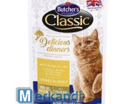BUTCHER'S DELICIOUS DINNER CAT WITH CHICKEN 100g