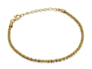 Twinkle Chain Bracelet 18.5 cm - 925 Silver Made in Italy