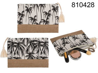 Cosmetic bag palm